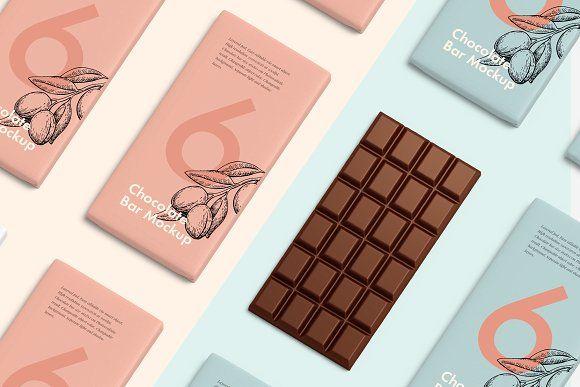 Chocolate bar mockup by seawasp on @creativemarket