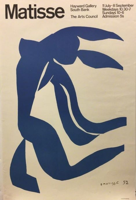 Henri Matisse, Matisse Hayward Gallery South Bank on ArtStack #henri-matisse #art