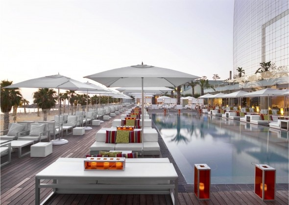 Hotel W Barcelone Piscine Wet