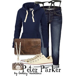Peter Parker Character Inspired Fashion: Archive