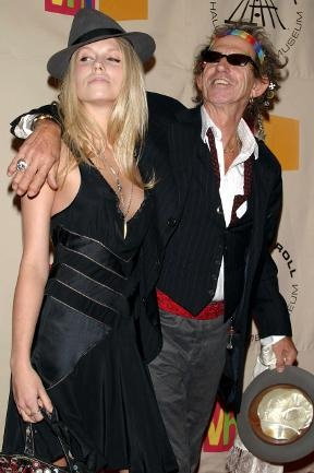 Keith Richards Daughter | Keith Richards and daughter ... - Gallery Portrait Alt (288x433 ...