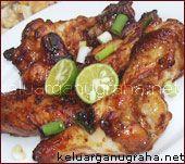 Ayam Goreng Mentega (Chicken in Sweet Soy Sauce & Butter)