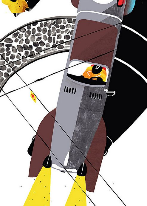 Design and Paper | Selected Illustrations by Sergiy Maidukov | http://www.designandpaper.com