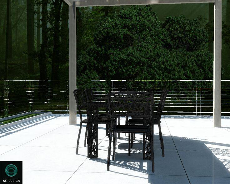 #Talenti srl #Outdoor living - Spider dining table design by #Karim #Rashid #madeinitaly
