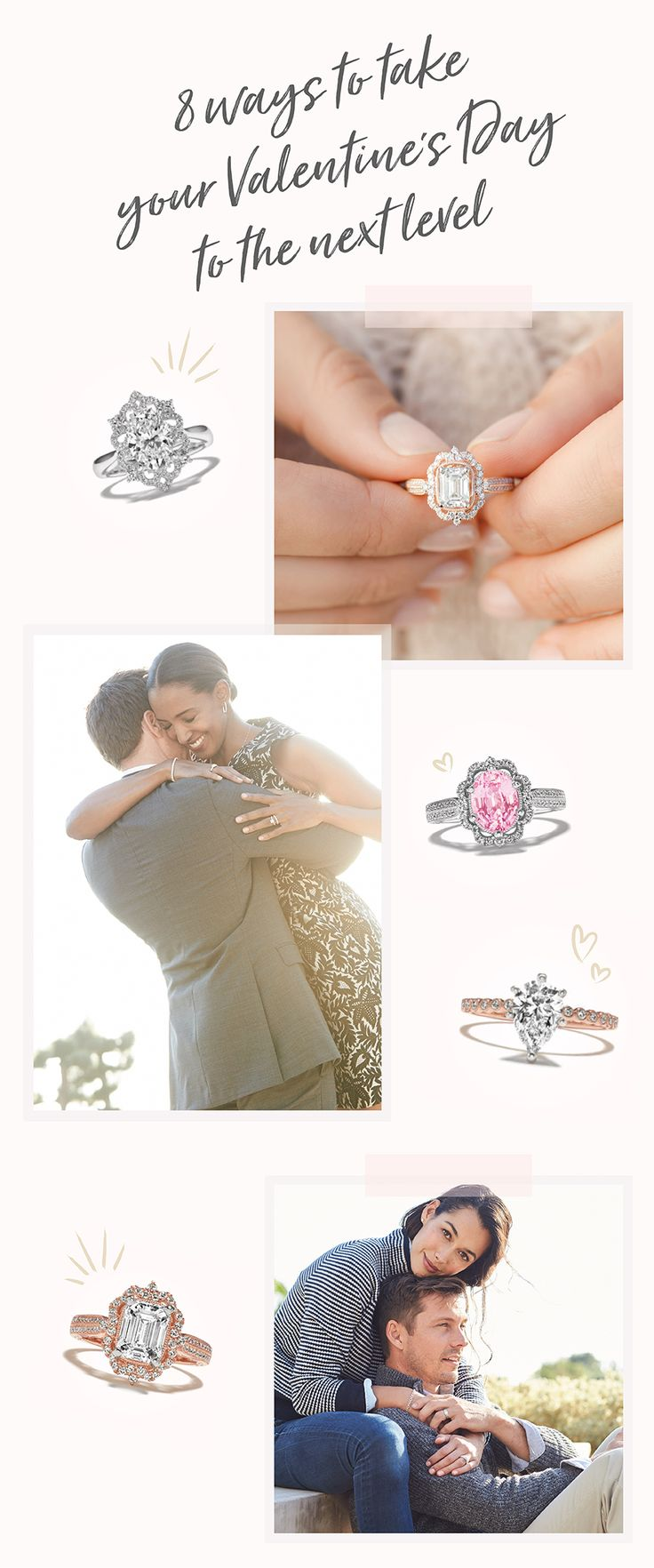 Valentine's Day proposals and weddings automatically come with a great big side ...