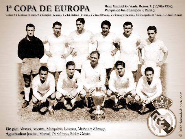 Real Madrid 1ªCopa de Europa