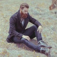 Levi Stocke, un modèle qui incarne bien le Lumbersexuel