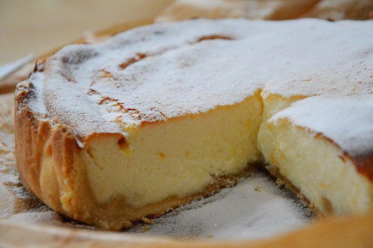 Cheesecake met limoen en gember