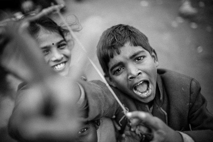 Three of them ©WagabundoTravel #travel #india #adventure #traveling #podróże #traveler #photography #travel #wyprawy #photography #children