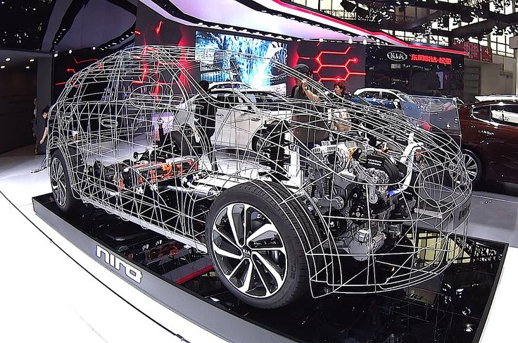 How are hybrid and electric cars made, electric and hybrid vehicle working look inside