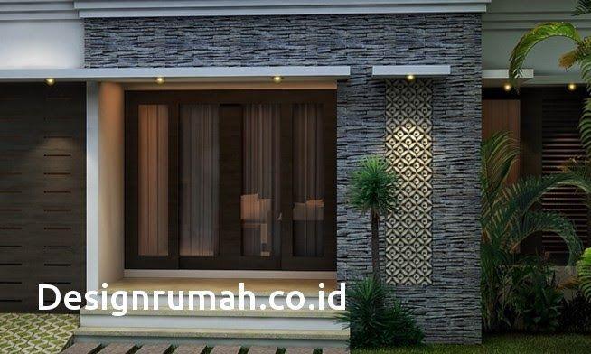 Keramik Dinding Teras Depan Rumah Minimalis