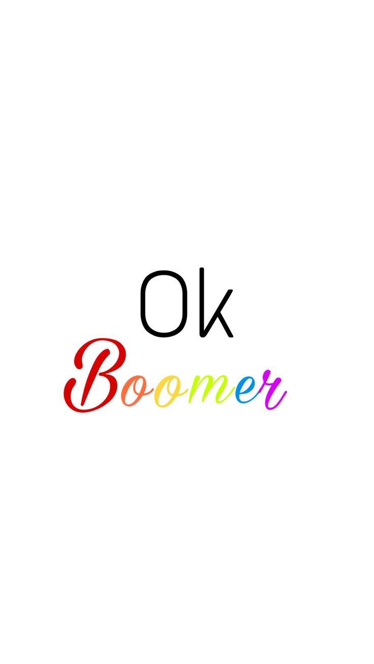 Ok Boomer wallpaper I made and is my Lockscreen♥️ Disney