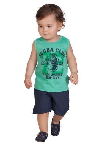 9cf3c2bf7 Pulla Bulla Baby Boy Sleeveless Shirt Graphic Tank Top 6-9 Months ...