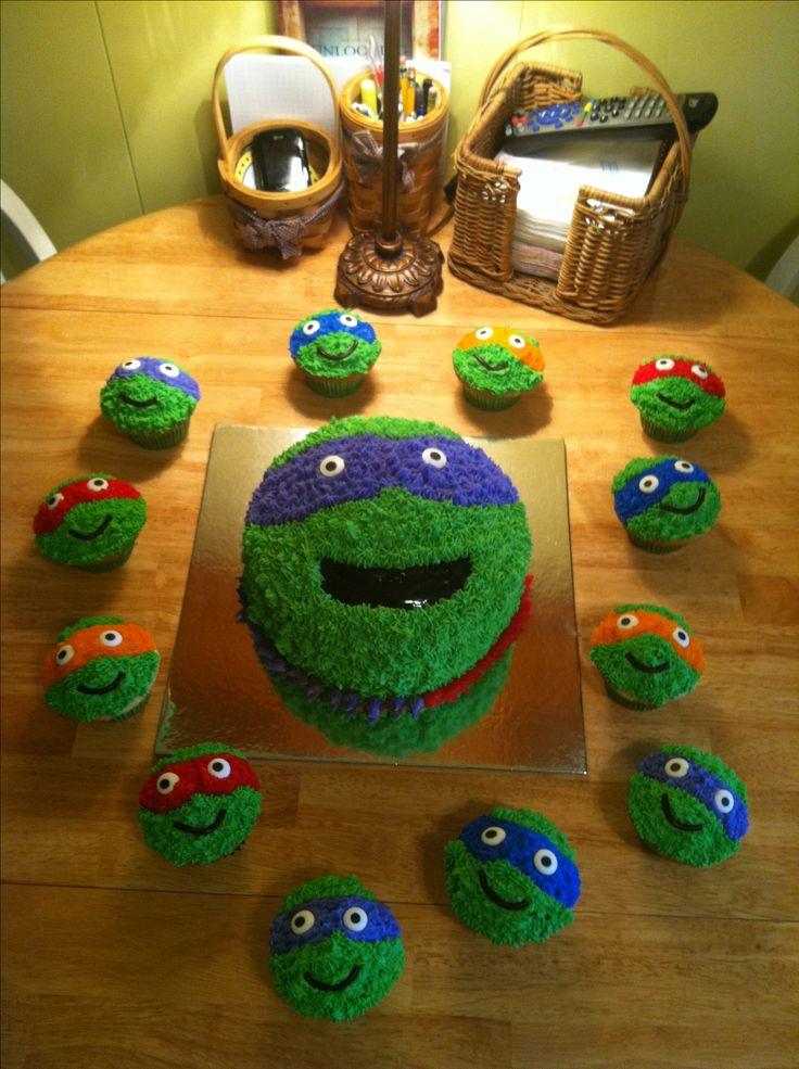 175 Best Images About Cakes Tmnt Teenage Mutant Ninja