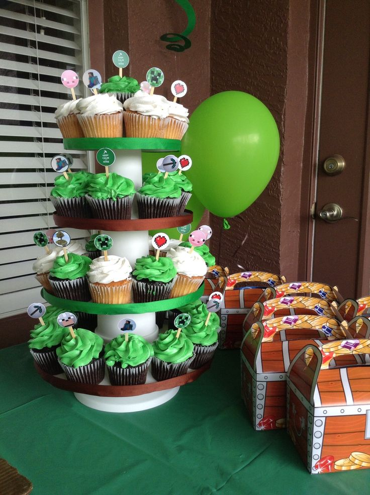 179 Best Minecraft Birthday Party Ideas Images On