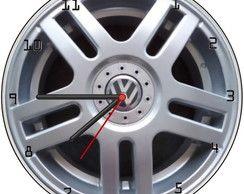 Relógio Parede Imagem Roda Vr6 barato