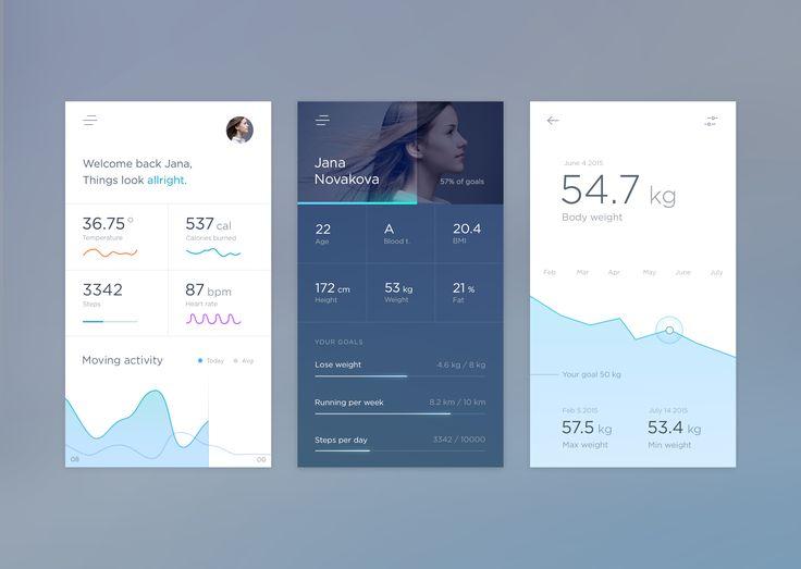 Health App mobile / Jakub Antalík