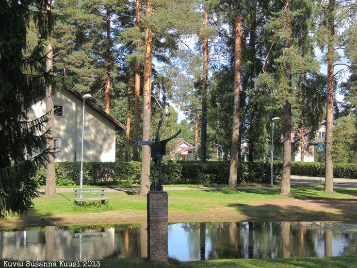 J.V. Jorman puisto, Sipusaarentie 28-30, Riihimäki. Kuva: Susanna Kuusi