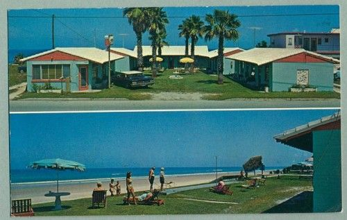 Driftwood Lodge Motel, Daytona Beach - ca. 1960s Postcard