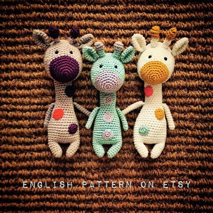The Dotties! . English pattern available on Etsy. . . . #handmade #handmadewithlove #handmadedoll #handcraft #craft #crochet #crochetdoll #crochetpattern #amigurumi #amigurumidoll #amigurumipattern #häkeln #häkeltiere #häkelanleitung #etsy #etsyshop #etsyseller #thehappynow #coloryourlife #giraffe #dottie #kawaii #cute #toy #crochettoy #design #prenzlzwerg #berlin