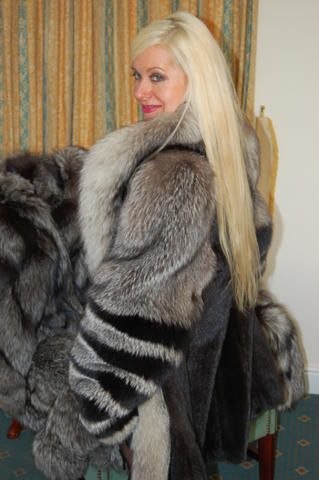 sex on fur blanket