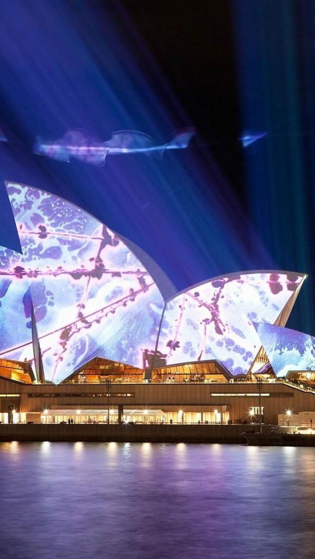 Sydney, Opera House, New South Wales, Australia, Europe, Night
