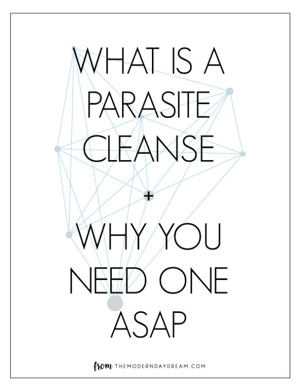 What is a Parasite Cleanse + Why you need one ASAP