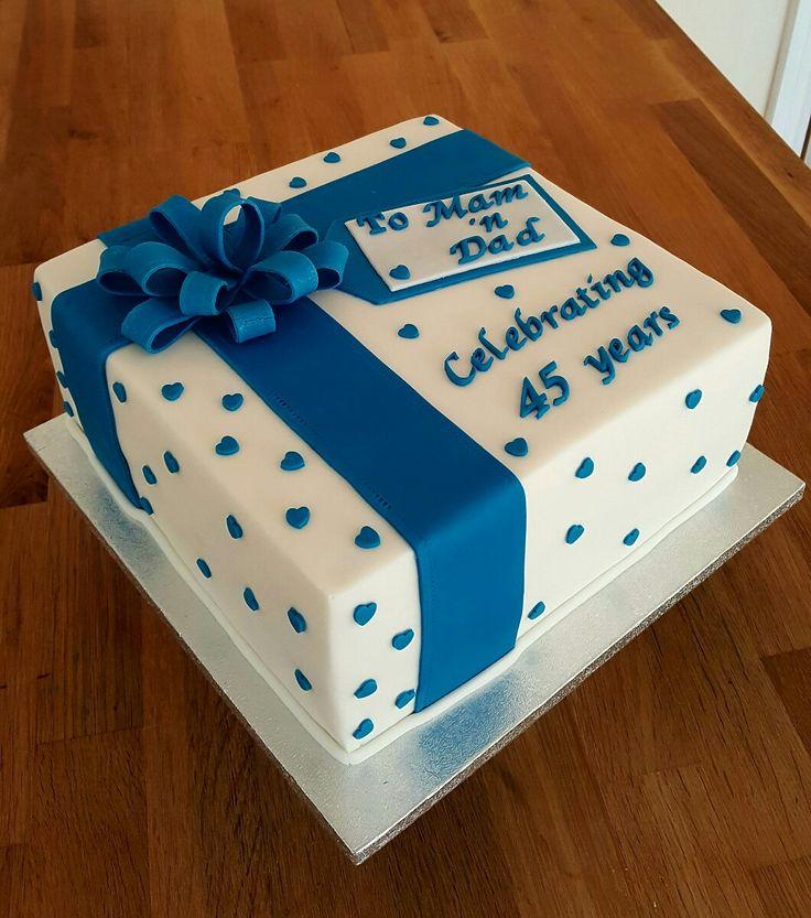 Sapphire Blue 45th Wedding Anniversary 5