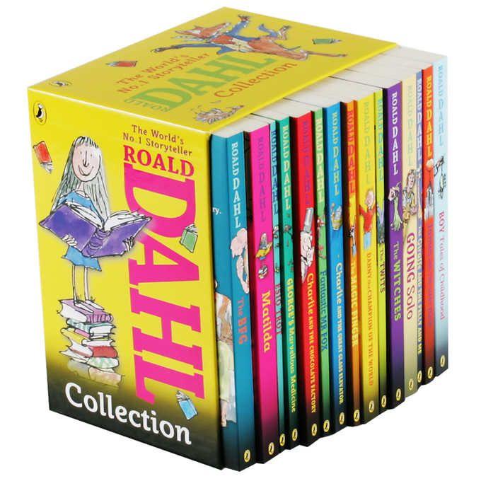 Roald Dahl Collection: 15 Book Box Set