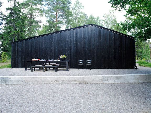 .: Ordinary House, Cabin, Black House, Exterior, Dream, Children, Architecture, Design