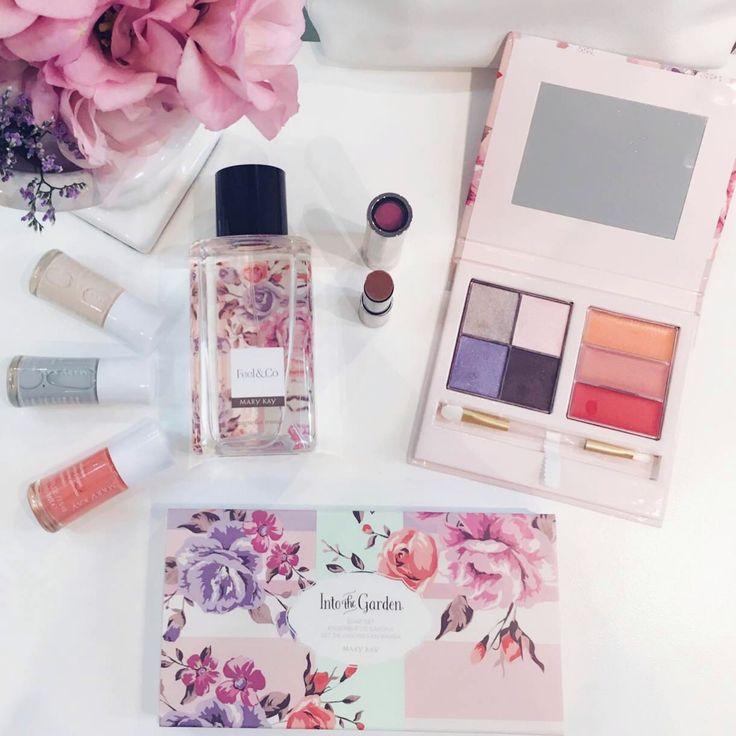 """Lançamento da nova coleção de maquiagem da Mary Kay em parceria com a estilista Patricia Bonaldi. Chamada """"Into the Garden"""", a linha é uma edição limitada e veio para celebrar o início da primavera!"""