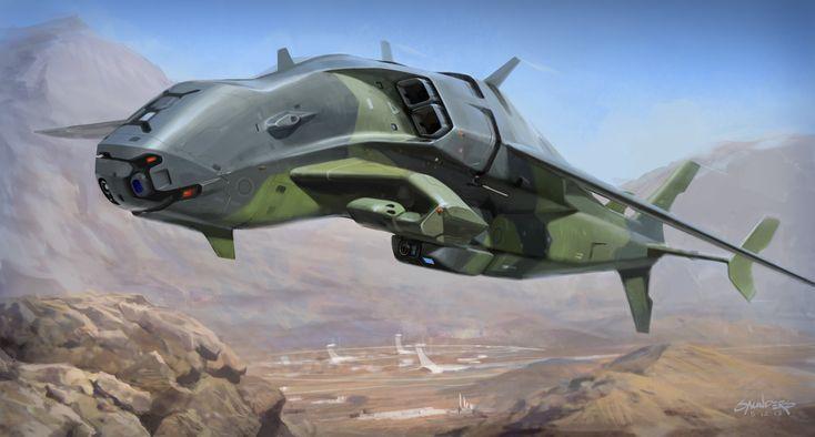 Artstation Drone Concept Phil Saunders Drones Concept