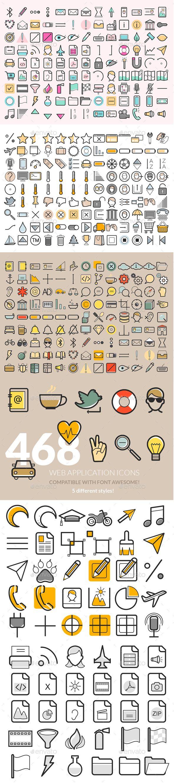486 Web Application Icons