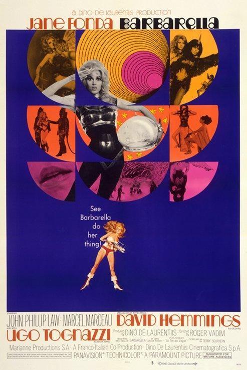 Barbarella, Roger Vadim, 1968