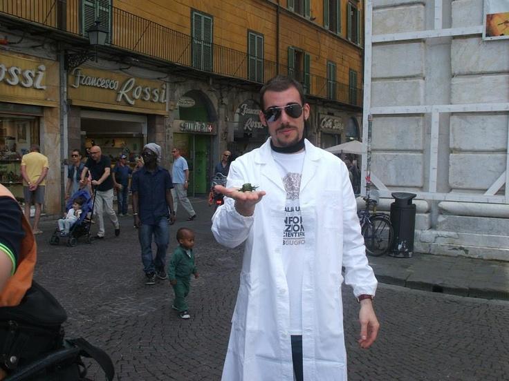 Un ranocchio per #italy4science