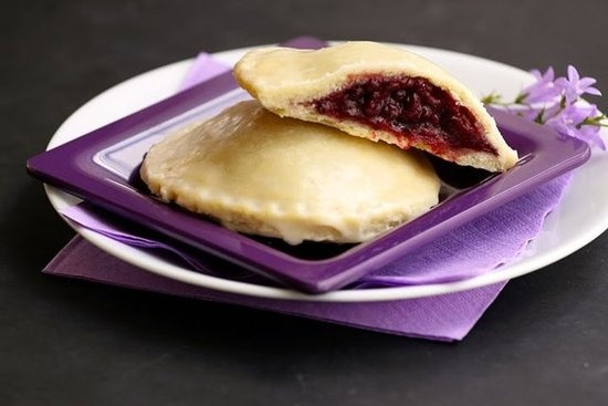 Hostess Fruit Pies: To some, those handheld fruit pastries with the gooey apple or cherry filling were the closest thing they experienced to a home-baked pie. Heres a version that actually channels the flavor of real fruit! Source: The Cooking Photographer