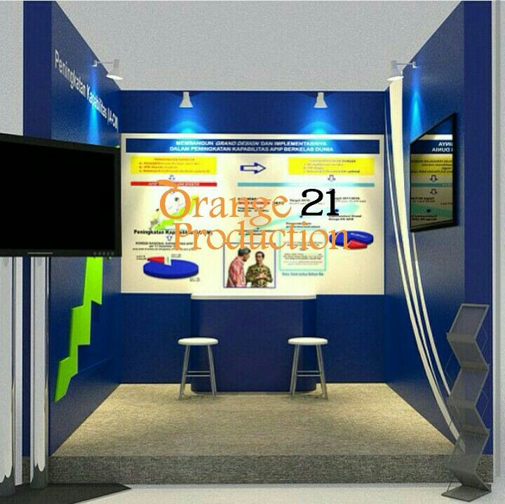 Design Bpkp booth