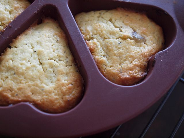 little lemon cakes in the Thermomix