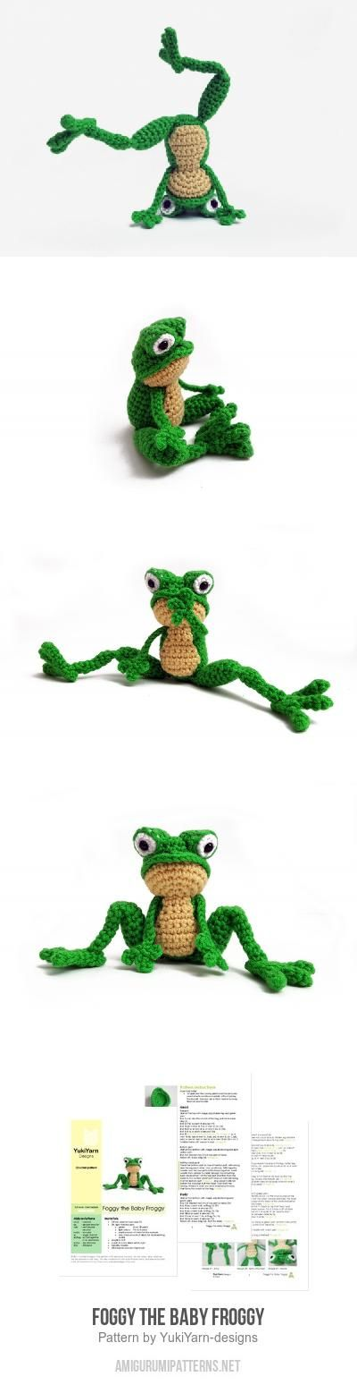Foggy The Baby Froggy Amigurumi Pattern