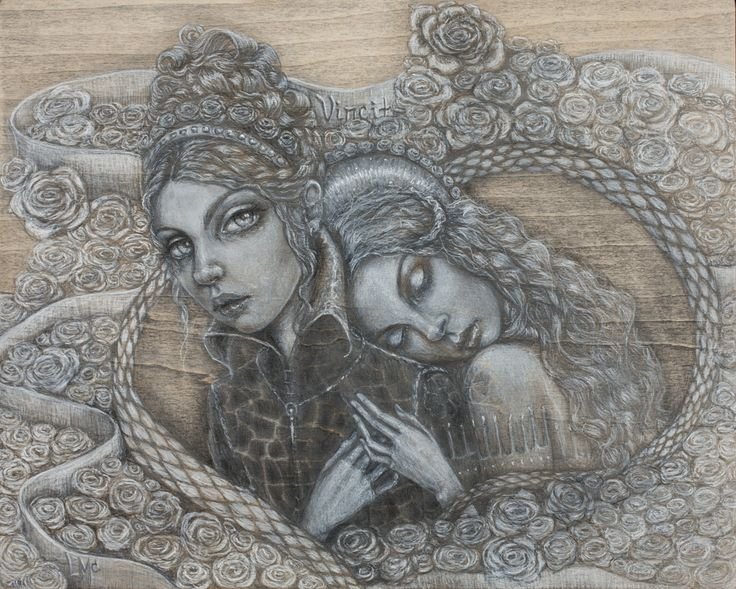 Love conquers all things fine art limited edition giclee print – Laurie McClave Fine Art