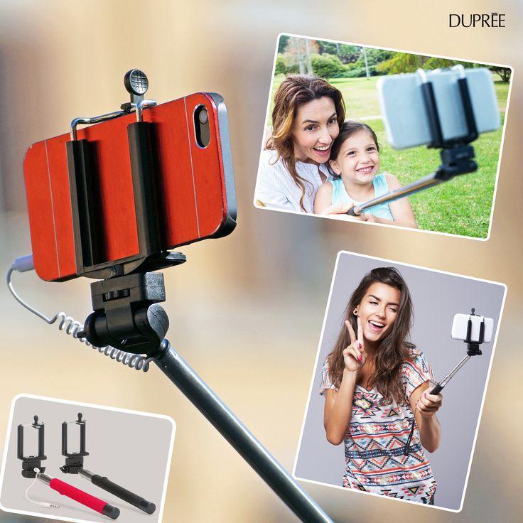 Monopod para selfie- ¡Capturar los mejores momentos con fotografías! Dupree