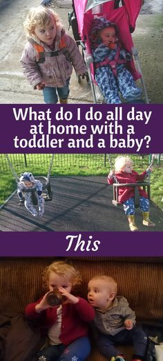 Fair Weather Parent: What do I do all day at home with a toddler and a baby? This. Being a stay at home mom is hard. What do other stay at home parents do with their children all day? Our daily routine #routing #toddler #baby #mumlife #momming #momtruths #parenting #toddlerroutine #twoundertwo #SAHP #Momlife #SAHM