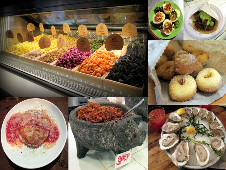 A Local's Guide To Eating Your Way Through Chelsea Market, NYC #chelseamarketny #foodie #nyc