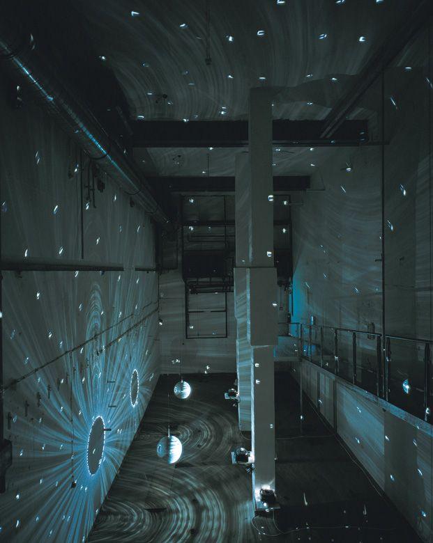 Space-Speech-Speed by Mischa Kuball #MischaKuball #lightart #lightartaday LIGHT ART A DAY
