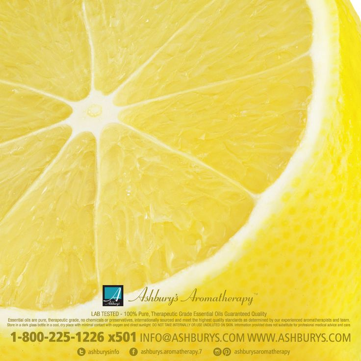 Lemon: Refreshing, Uplifting & Cleansing . All of Ashbury's Essential Oils are 100% pure, lab tested. Call 1-800-225-1226 x501 for wholesale pricing and private labelling. #ashburysaromatherapy