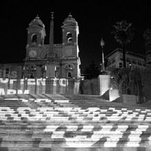 Jenny Holzer - Projections Iphone_2spanish_step_in_rome
