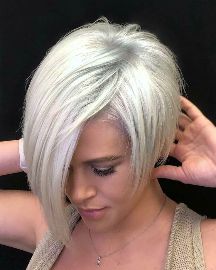 10 praktische stilvolle kurze Frisuren 2018