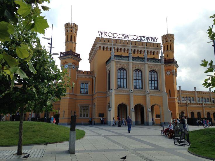 Hauptbahnhof in Breslau / Wrocław