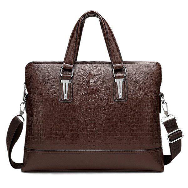 Embossing Dark Colour Metal Briefcase #jewelry, #women, #men, #hats, #watches, #belts, #fashion