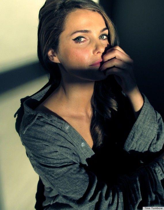 keri russell- she's wearing Laura Mercier Lipstick in Hydrangea